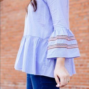 Chic wish belle sleeve top.